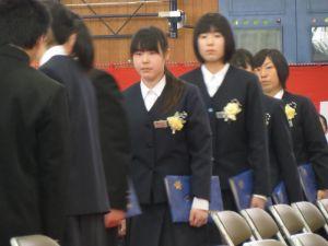 富士見中学校卒業式: 鈴木としじ...